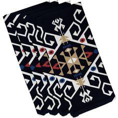 Oliver Jodhpur Medallion Geometric Print Napkin