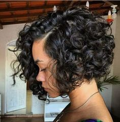Curly bob.....❤️