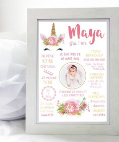 Paris Birthday, Baby Birthday, Baby Frame, Frame Template, Baby Photos, Baby Room, Lily, Baby Shower, Invitations