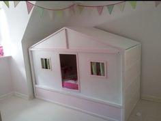 Kira bed cottage hack. #ikea #hack