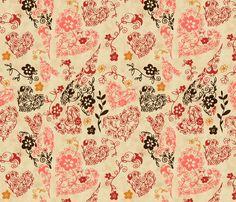 Love fabric by natalie on Spoonflower - custom fabric