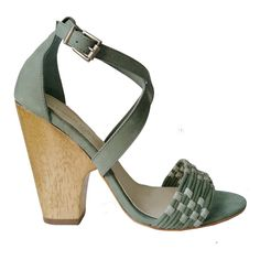 Madison Harding Ben Woven Sandal ($220) ❤ liked on Polyvore