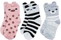 LITTONE Baby Kids Combed Cotton Cute Animal 3D Ear Crew Socks 2 Size for 1-3Y and 3-5Y Cotton Socks, Crew Socks, Dress Skirt, Fashion Brands, Baby Kids, Cute Animals, Topshop, Detail, Girl Outfits