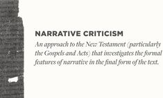 Literary Approaches to the Bible Literary Criticism, Bible Online, Literary Theory, Quotation Marks, Ecclesiastes, New Testament, How To Introduce Yourself, Quotations