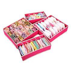 Органайзер для нижнего белья, носков и галстуков - 4 шт. Ссылка: http://ali.pub/ia0j9