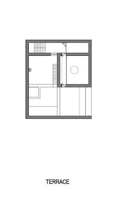 Casa Raumplan,Planta Terraza
