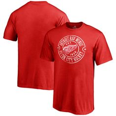 Detroit Red Wings Youth Hometown Collection Detroit Muscle T-Shirt - Red