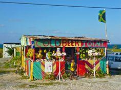 Jamaican beach shop