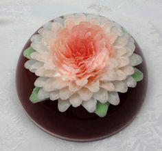 Red Gelatin Art Cake