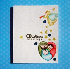 Gloria's craft room: A blessed Christmas