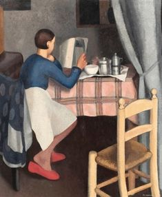 "Felice Casorati ""Not only by the bed, in the kitchen. And not just cookbooks..."" https://www.facebook.com/CrescentDragonwagonFearlessly"