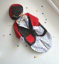 Costume de clown / enfant / étoiles # Frénésie et moi