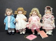 4 Paradise Galleries 8 inch Collector Dolls with clothing ages 0-100 #ParadiseGalleries #DollswithClothingAccessories