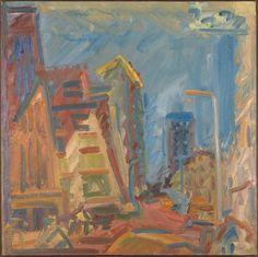 Frank Auerbach 'Mornington Crescent - Summer Morning', 2004 © Frank Auerbach