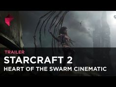 StarCraft 2: Heart of the Swarm opening cinematic
