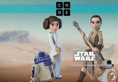 Disney y Code.org se ponen de acuerdo para enseñar Javascript a través de Star Wars