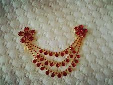 Women Crystal Hair Pins Comb Headband Head Chain Wedding Bridal Accessories