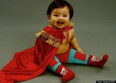 Halloween costume for baby: Nacho Libre at Huffington Post