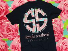 How fab is this Simply Southern floral logo tee? Shop it and more today in stores + ONLINE! #simplysouthern #shopPD
