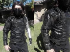 Winter Soldier costume from Captain America. Loved building this one, but there was a lot of detail. Just sold it on Ebay!