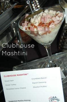 clubhouse mashtini #recipe