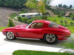Pro Street Chevy Corvette