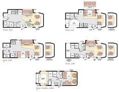 Winnebago View class C motorhome floorplans Class C Campers, Class C Rv, Happy Campers, Small Motorhomes, Rv Floor Plans, Homestead House, Bus Living, Mobile Shop, Building A New Home