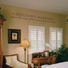 A Successful Marriage Is The Union Of Two Great Forgivers-