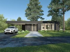 Individual modern Architectural design and concepts. Minimalist House Design, Small House Design, Minimalist Home, Modern House Design, Modern House Facades, Modern Architecture, Modern Houses, Villa, Facade House