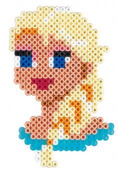 Queen Elsa - Disney Frozen Gift Set Hama Beads 7957