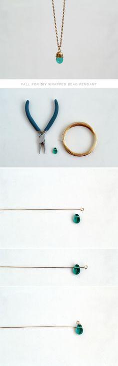 DIY – How To Wrap a Bead