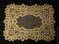 Интерьер Плетение на коклюшках вологодское кружево Кружево фото 3