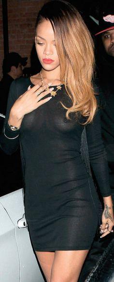 Rihanna - Black Dress