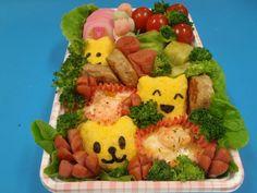 Lettuce, Bowser, Broccoli, Shrimp, Cute Animals, Eggs, Kawaii, Lunch, Chicken