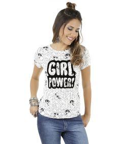 Blusa As Meninas Superpoderosas Off White - cea