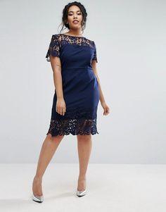 ASOS Curve Lace Dress