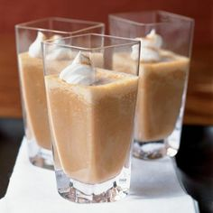 Pumpkin Pie Shake Recipe from Cooking Light