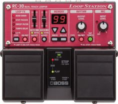 BOSS RC-30 Guitar Pedal Loop Station w/ Power Supply and (2) 10′ Guitar Cables  http://www.instrumentssale.com/boss-rc-30-guitar-pedal-loop-station-w-power-supply-and-2-10-guitar-cables-3/