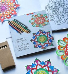 Adult Mandala Coloring Books! by Katie Dunphy on Etsy