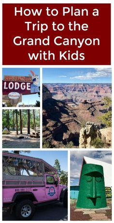 How to Plan a Vacation to the Grand Canyon with Kids Here's what you need to know to plan a trip to the Grand Canyon with kids, including the best places to stay near the Grand Canyon. Hotels Near Grand Canyon, Grand Canyon Vacation, Grand Canyon Railway, Visiting The Grand Canyon, Grand Canyon South Rim, Grand Canyon National Park, National Parks, Vegas To Grand Canyon, Vacation Ideas