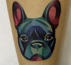 french bulldog tattoo - Buscar con Google