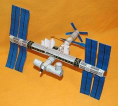 Download the templates  and build your very own paper model  of the International Space Station! The International Space Station (ISS)  is...