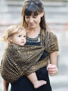 Raja Zola Hemp Organic Combed Cotton Baby Wrap by Oscha Slings