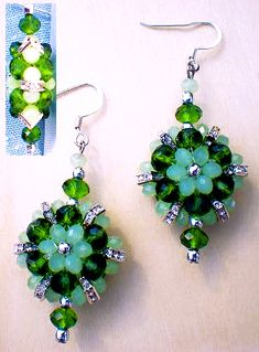 "Double Sided Pattern - click on ""jewelry"" on the top for many more free and paid patterns"