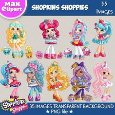 Your place to buy and sell all things handmade Shoppies Dolls, Shopkins And Shoppies, Plastic Canvas Tissue Boxes, Plastic Canvas Patterns, Hello Kitty Clipart, Shopkins Happy Places, Shopkins Characters, Image Transparent, My Little Nieces
