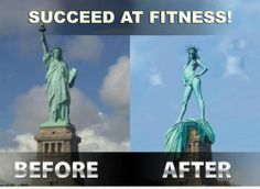 Succeed at Fitness! hahahhaha..lolzzz :D