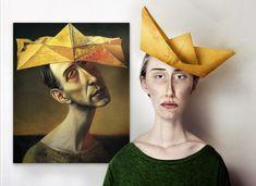 The real life models by Flora Borsi, via Behance