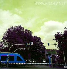 #Menden #Bahnübergang #Bahn #Schranke
