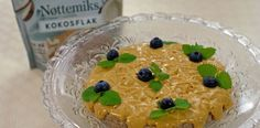 Nøttebunn prod.plassering low Pudding, Cake, Desserts, Food, Pie Cake, Meal, Custard Pudding, Cakes, Deserts