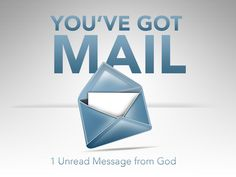 Email From God!!! You've Got Mail, Container, Messages, God, Dios, Allah, Text Posts, Text Conversations